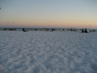 Siesta Key Beach ranked Second