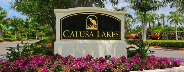 Calusa Lakes Golf Club Homes for Sale