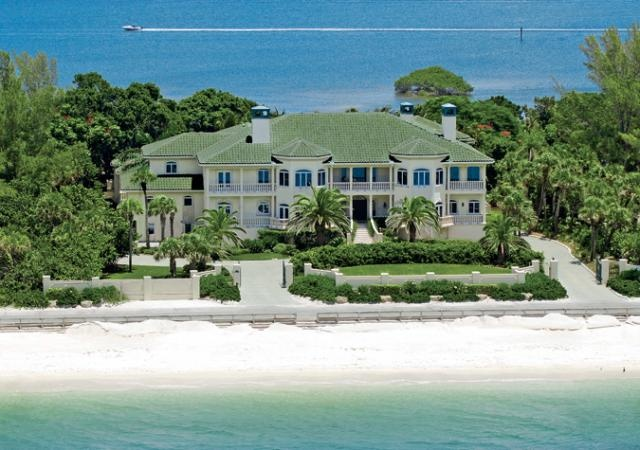 Casey key real estate casey key homes for sale casey for Celebrity homes in florida