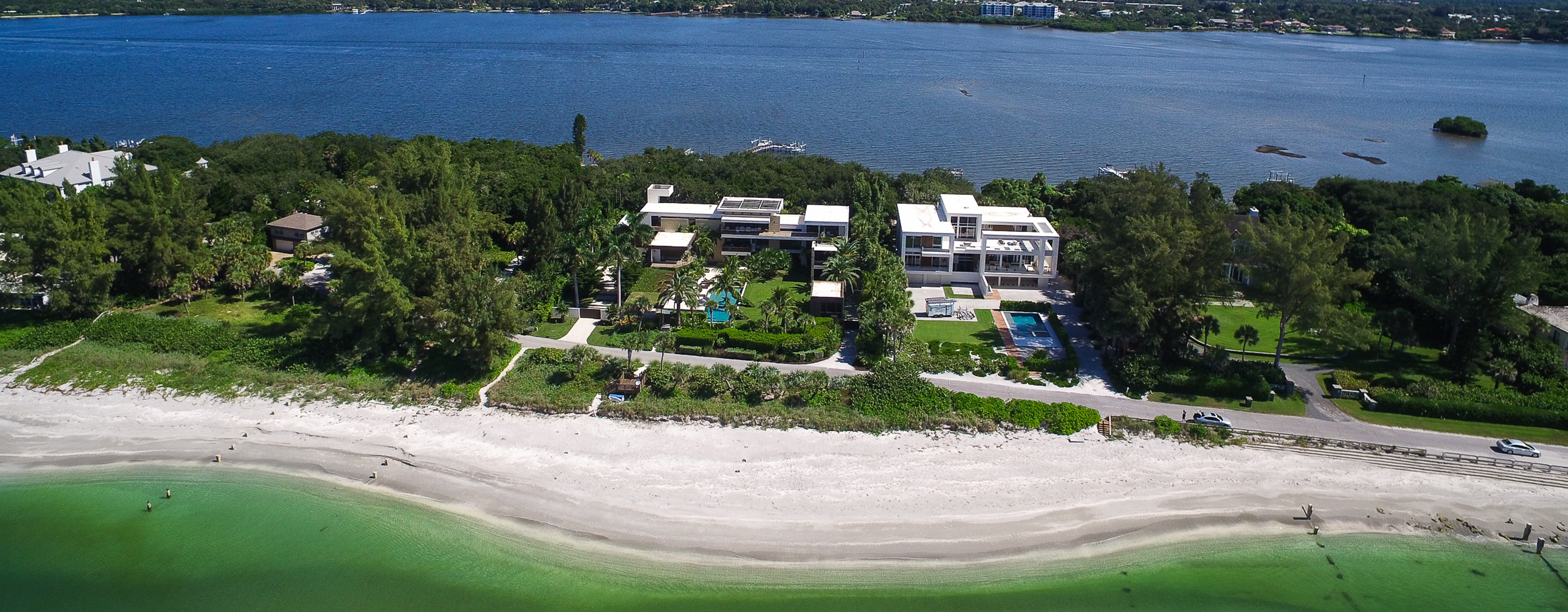 Casey Key Waterfront Homes for Sale