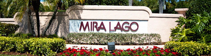 Mira Lago on Palmer Ranch Homes for Sale