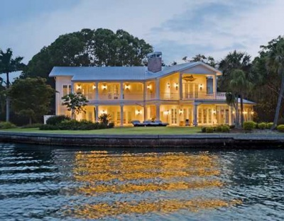 Siesta key waterfront homes for sale siesta key for Seafront homes