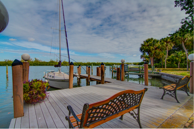 Lido Key Waterfront Home for Sale