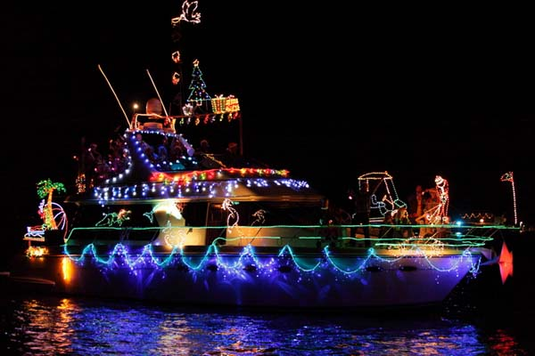 Sarasota Holiday Boat Parade of Lights