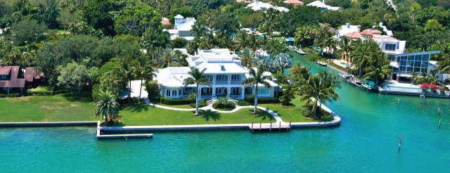 Waterfront homes for sale siesta key florida