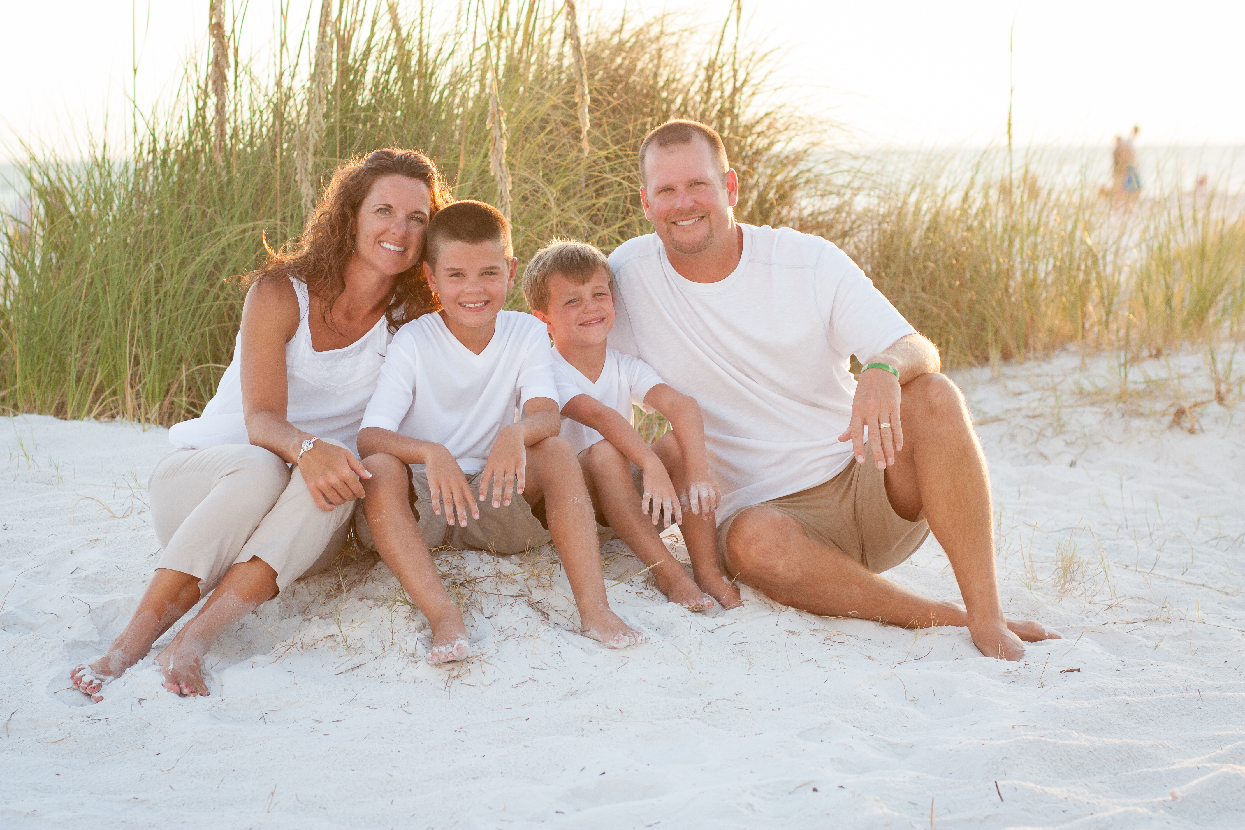 Siesta Key Beach Family Portraits with Stacey Marks Photography