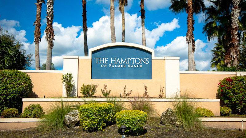 The Hamptons on Palmer Ranch Homes for Sale