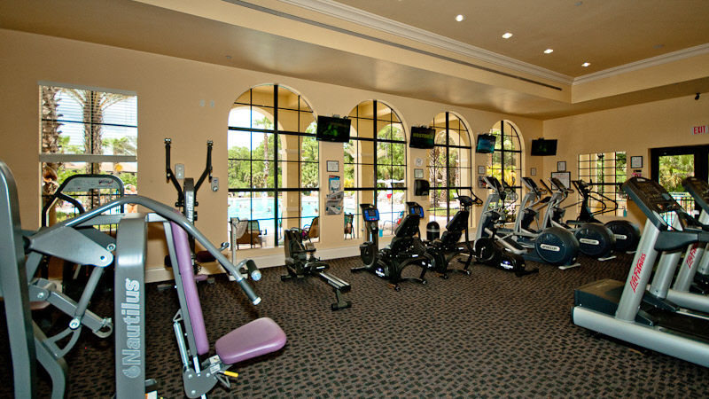 The Venetian River Club Exercise Room