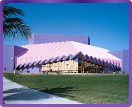 Van Wezel Performing Arts Hall in Sarasota